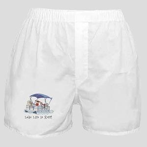 Pontoon Boat Boxer Shorts