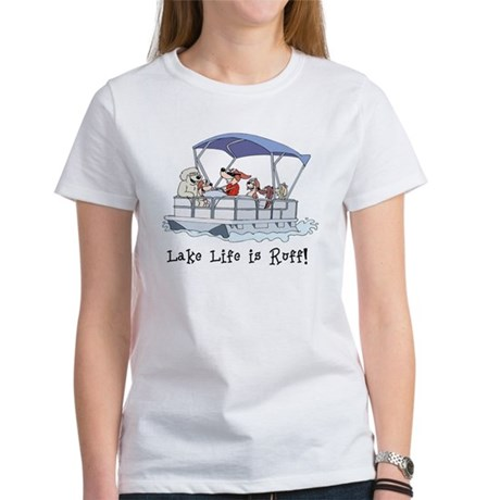 Pontoon Boat Women's T-Shirt
