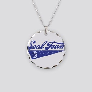 Seal Team 6 Necklace Circle Charm
