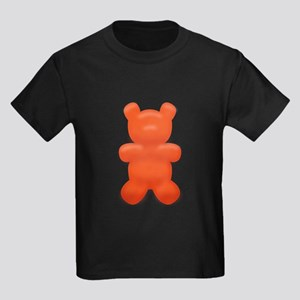 Red Gummi Bear Kids Dark T-Shirt