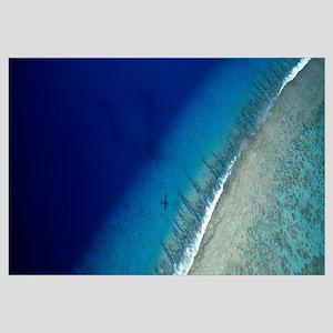 Aerial View of Beach, Teti'aroa Island, Polynesia