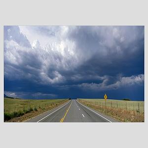Highway near Blanding, Utah