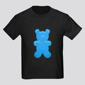 Blue Gummi Bear Kids Dark T-Shirt