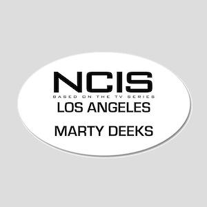 NCIS LA Marty Deeks 22x14 Oval Wall Peel