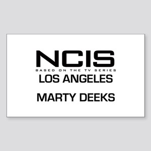 NCIS LA Marty Deeks Sticker (Rectangle)