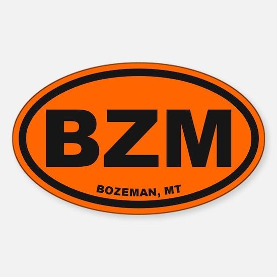 Cute Bozeman Sticker (Oval)