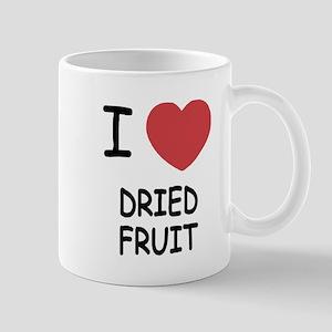 I heart dried fruit Mug