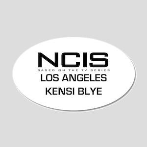 NCIS LA Kensi Byle 22x14 Oval Wall Peel