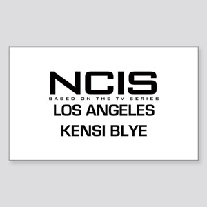 NCIS LA Kensi Byle Sticker (Rectangle)