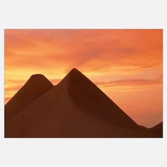 Sunrise Algodones Sand Dunes Imperial Sand Dunes R