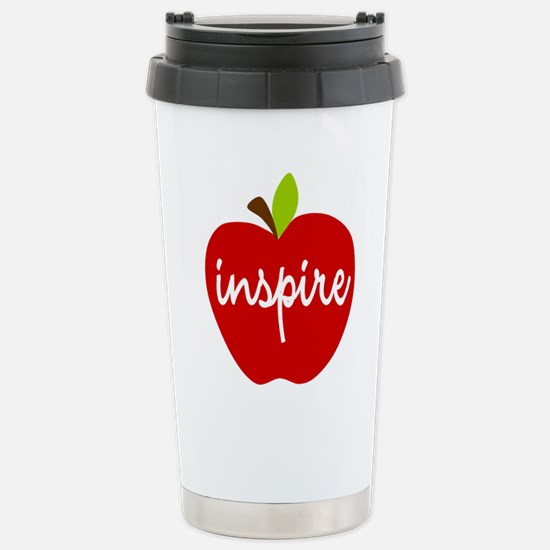 Inspire Apple Stainless Steel Travel Mug