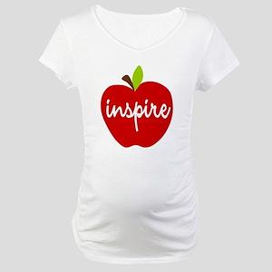 Inspire Apple Maternity T-Shirt