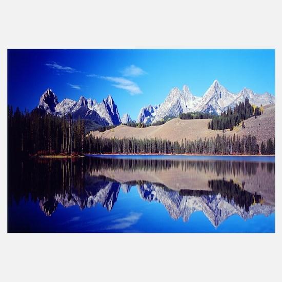 Little Redfish Lake Mountains ID