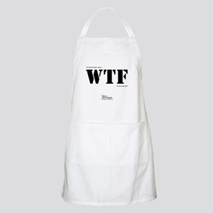 """""""I've had a brain tumor WTF is your excuse?"""" Apron"""
