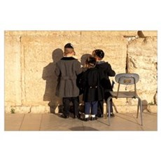 The Wailing Wall Jerusalem Israel Poster