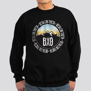 Beta Chi Theta Mountain Sunset Sweatshirt (dark)
