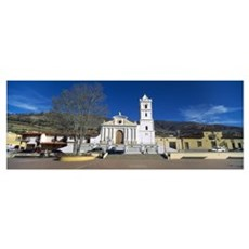 Church in a village San Rafael De Mucuchies Merida Canvas Art