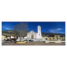 Church in a village San Rafael De Mucuchies Merida Poster