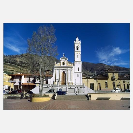 Church in a village San Rafael De Mucuchies Merida