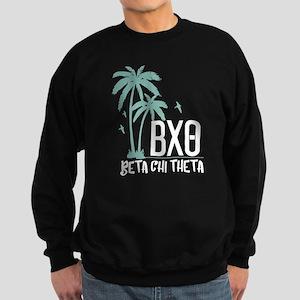 Beta Chi Theta Palm Trees Sweatshirt (dark)
