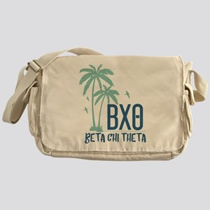 Beta Chi Theta Palm Trees Messenger Bag