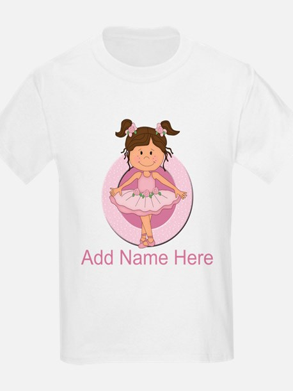 Personalized Ballerina Balle T-Shirt