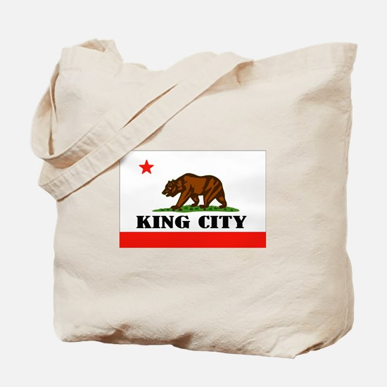 King City,Ca -- T-Shirt Tote Bag