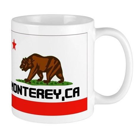 Monterey,Ca -- T-Shirt Mug