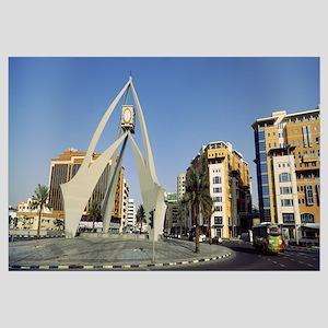 Monument in a city Deira Clocktower Al Rigga Dubai