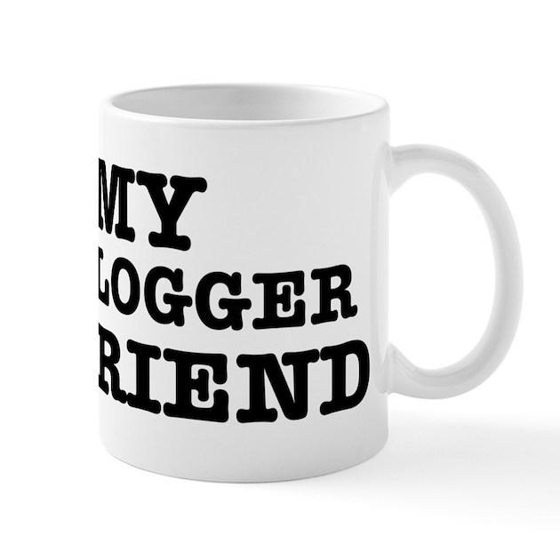 My Lover Was A Logger : I love my ger boyfriend mug by mmab