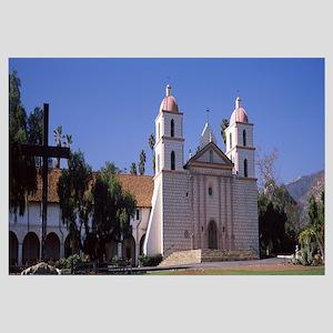 Facade of a mission Mission Santa Barbara Santa Ba