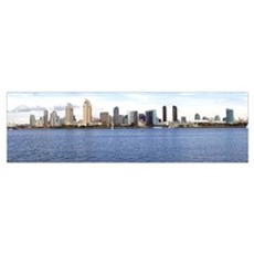 Buildings at the waterfront San Diego California Canvas Art