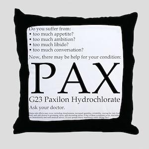 Pax Throw Pillow