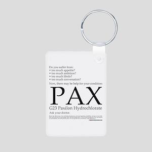 Pax Aluminum Photo Keychain