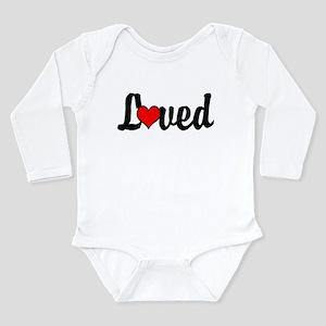 Loved, Infant, Baby, Long Sleeve Bodysuit, Onesie