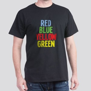 Wrong Color Words Dark T-Shirt