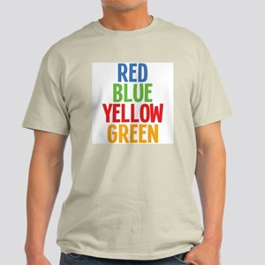 Wrong Color Words Light T-Shirt