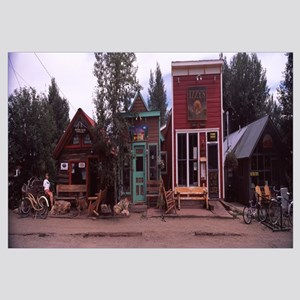 Shops in a town Crested Butte Gunnison County Colo