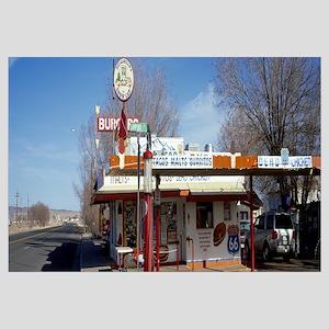 Restaurant on the roadside Route 66 Arizona