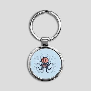 Beta Chi Theta Octopus Keychains