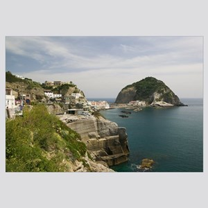 Building on a hilltop, Ischia, Naples, Campania, I