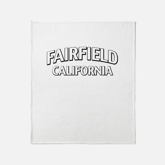 Fairfield California Throw Blanket