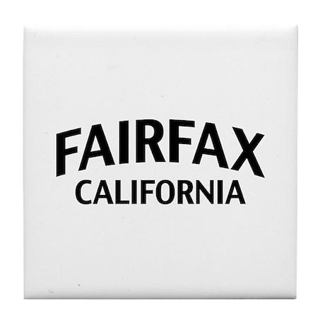 Fairfax California Tile Coaster