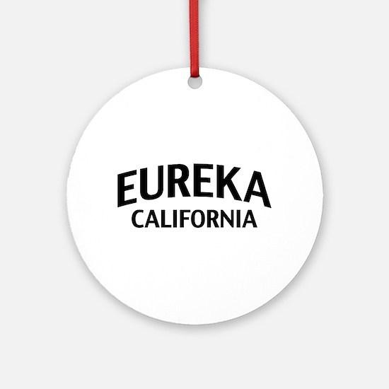 Eureka California Ornament (Round)