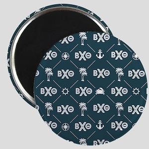 Beta Chi Theta Blue Pattern Magnets
