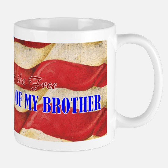 Land of Free Brother Mug