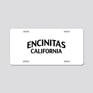 Encinitas California Aluminum License Plate