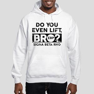 Sigma Beta Rho Do You Lift Bro Hooded Sweatshirt