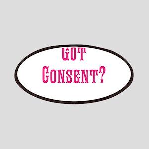 Got Consent Fun Patches