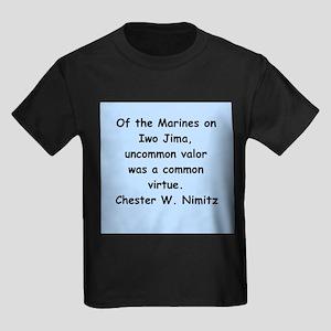 chester nimitz Kids Dark T-Shirt